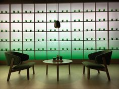 Fifty shades of green and a moment of tranquility in the madness of Milan design week. Installation and beautiful accessories for Pure Leaf tea by @lucanichetto and @pepsico_design. Congratulations to @mauroporcini and his team for taking good design to a wider audience #pureleaf #salonedelmobile #superstudio #milandesignweek #mixitup  via WALLPAPER MAGAZINE OFFICIAL INSTAGRAM - Fashion Design Architecture Interiors Art Travel Contemporary Lifestyle