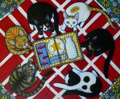 Hungry Cat Picnic by Heidi Shaulis, via Flickr