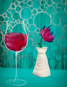 I am going to paint Wine with Jules at Pinot's Palette - Rochester Hills to discover my inner artist!