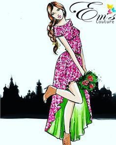 RAYON D.NO 1041 #fashioniblogger #fashionday #fashionista #newstyletowear #lookofday #fashionpost #currentlywearing #couturedress #casualwear #summerlook #summerprint #pritablefashion #emsprintedpost