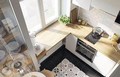 Дизайнер Ксения Драпей из студии «Цуккини» нашла в однокомнатной квартире место для кухни, гостиной, спальни и ванной комнаты. Смотрим, какие приемы помогают сэкономить драгоценные сантиметры. Свежие идеи дизайна интерьеров, декора, архитектуры на INMYROOM.