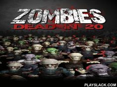 Zombies: Dead In 20  Android Game - playslack.com , You are touched  by multitudes of zombies. They advance from all regions and want to sensation your flesh. Only firearm in your hand can let you live for a tiny longer. Your character is in the area of the screen with a top-down orientation. Zombies come at you from all of the regions. Tap any place on the screen to shoot, roll your character to shoot zombies all  the zombies. Don't let them go near you or your'll die and the game'll be…