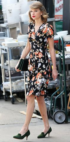 Look of the Day - April 29, 2014 - Taylor Swift in Modcloth from #InStyle