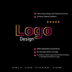 I will design an awesome logo for your company or your website only for $5. You will get 100% unique design and professional service. I have a team of 5 peoples and I work 18 hours within a day and 7 days in a week.