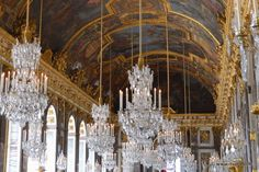 Hall of Mirrors - Palace Versailles - France  How many people are aware of the historic legacy of this one room, and the continued impact on the lives of at least a billion or two humans?