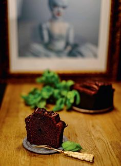 Chocolate, basil and sichuan pepper loaf cake recipe from The Italian Baker by Melissa Forti | Cooked