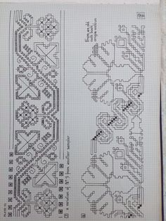 17th century embroidery chart