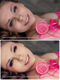 what a difference a cell phone camera makes from a professional photo with studio lights.. amazing!