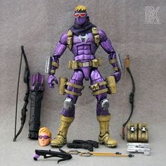 Ultimate Hawkeye (Marvel Legends) Custom Action Figure