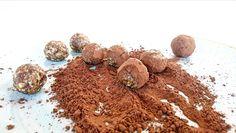 Te va a encantar esta deliciosa #receta de #bolitas #energéticas de #jengibre y #cacao. ¡Está buenísima!