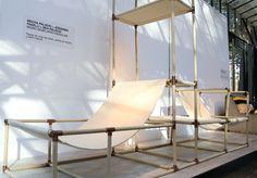 MoMo - Modular Furniture on Behance Modular Furniture, Design Furniture, Wood Furniture, Modern Furniture, Outdoor Furniture, Visual Merchandising, Bench Designs, Retail Store Design, Branding