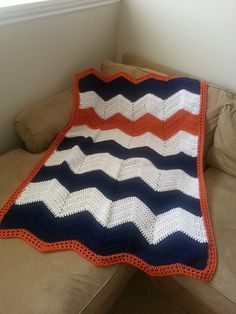 Ravelry: Chevron Baby Blanket pattern by Carlie Barrus