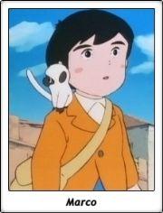 Marco Rossi / Marco. De los Apeninos a los Andes / Haha wo tazunete sanzenri / anime /  TV Serie / 1976