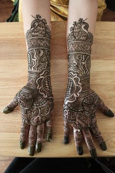 hard henna designs - Google Search