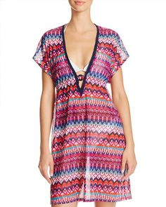 98.00$  Watch now - http://vibqk.justgood.pw/vig/item.php?t=a9b8g014737 - Profile by Gottex Tequila Tunic Swim Cover-Up 98.00$