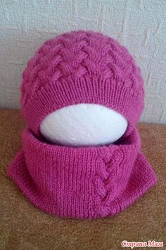 ". Шапочка и снуд ""Косички"" для доченьки Crochet Beanie, Knit Or Crochet, Knitted Hats, Crochet Hats, Kids Hats, Cool Baby Stuff, Crochet Clothes, Beanie Hats, Baby Knitting"