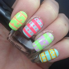 kbkopija easter #nail #nails #nailart