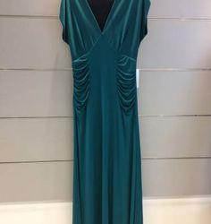 vestido longo verde esmeralda - vestidos marcia morais