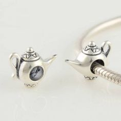 STERLING SILVER Magic Lamp CHARM - Tibet Silver Charms - Charms - LYDIA JEWELLERY
