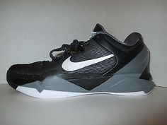 3d85bea79d11 New Nike Kobe 7 Black Grey Size 9.5 DS Wolf Grey Christmas Grinch Rare PE  Basketball
