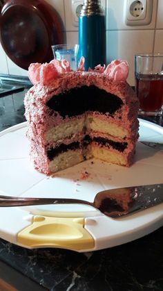 Das ist eine Frühlingstorte...Neapolitan Cake