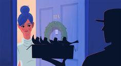 Nimmt man die Worte des bekannten Weihnachtsliedes wörtlich, kommt eine sehr seltsame Geschichte heraus... :) https://www.langweiledich.net/12-days-of-christmas-als-animiertes-drama/