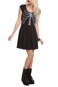 Teenage Runaway Rib Cage Dress.  Get in my closet now.
