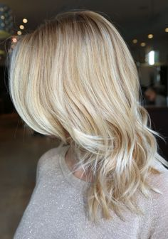 pale blonde.