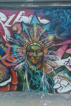 Native Graffiti (Unknown Artist)