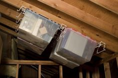Hang Boxes From the Ceiling  - CountryLiving.com