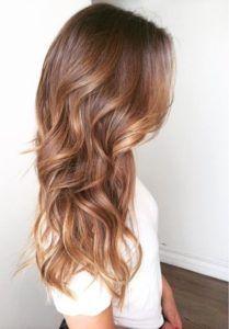 35 estilos de color de pelo castaño rojizo   #casta #color #estilos #rojizo