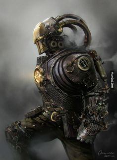 To the guy with the steampunk ironman. This is a true steampunk ironman
