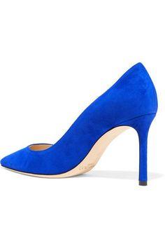 Jimmy Choo - Romy Suede Pumps - Cobalt blue - IT37.5