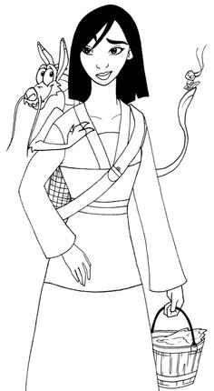 mulan coloring pages google sgning