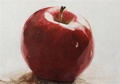 "Daily Paintworks - ""Apple"" - Original Fine Art for Sale - © John Cameron"