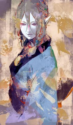 pixiv is an illustration community service where you can post and enjoy creative work. A large variety of work is uploaded, and user-organized contests are frequently held as well. Art And Illustration, Illustrations, Fantasy Character Design, Character Art, Manga Art, Manga Anime, Mononoke Anime, Arte Inspo, Estilo Anime