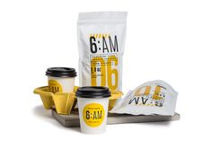 Get Your Morning Going With 6:AM Coffee — The Dieline | Packaging & Branding Design & Innovation News