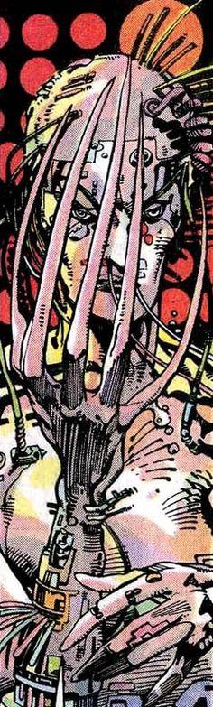 Lady Deathstrike by Barry Windsor-Smith