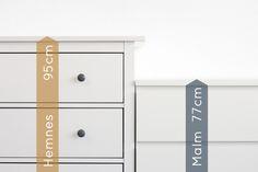 Die wohl am meist verkauften Ikea-Kommoden sind die Hemnes und die Malm Kommode . Wir haben diese beiden Toprunner-Kommoden für dich im Detail getestet und stellen dir in diesem Artikel die Unterschiede vor. Die Hemnes Kommode von...