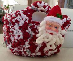 Cesta para los dulces de Navidad