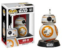 The Force awakens. and bobbles! From Star Wars: Episode VII - The Force Awakens comes arguably the cutest droid in the galaxy - This Pop! Vinyl Bobble Head measures 3 tall and comes with a decorative Star Wars stand. Ages 3 and up. Bb8 Star Wars, Star Wars Meme, Star Wars Quotes, Funko Pop Star Wars, Star Wars Toys, Star Trek, Figurines D'action, Pop Vinyl Figures, Disney Star Wars