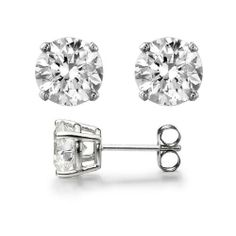 0.10 Ct. Round Cut Diamond Stud Earrings by McQueen Jewelry (F, SI1) Platinum, Push Back McQueen Jewelry. $759.99. 0.10 Total Carat Weight. 100% Natural Diamonds & Hassle Free Returns. F Color, SI1 Clarity. You don't have to sacrifice glamour just because you don't have a superstar budget. We offer amazing diamond pieces at exceptional prices- guaranteed.. The perfect gift for an anniversary, birthday, baptism, Christmas, graduation, or any celebration you want to...