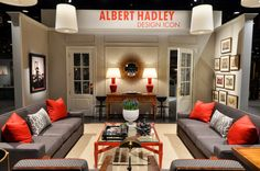A gorgeous room designed by Jonathan Savage for the Albert Hadley Tribute in the Antiques & Garden Show of Nashville