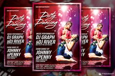 Check out Dirty Dancing Flyer Template by ThatsDesign on Creative Market