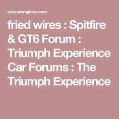 a tidy wiring diagram is a must spitfire electrical (wiring  new 1971 spitfire wiring diagram gt6 forum triumph