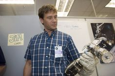 Connor visits the Hubble facility in 2006