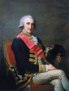"""George Brydges Rodney (13 February 1718 – 24 May 1792) was a British naval officer. He is best known for his commands in the American War of Independence, particularly his victory over the French at the Battle of the Saintes in 1782. It is often claimed that he was the commander to have pioneered the tactic of """"breaking the line""""."""