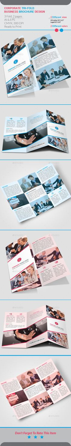 Corporate Tri-Fold Brochure Template Vector EPS, Vector AI. Download here: http://graphicriver.net/item/corporate-trifold-brochure-template/11274129?s_rank=1793&ref=yinkira