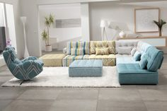 Arianne Modern Sectional Sofa by Fama Sofas, Spain