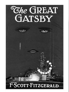 """The Great Gatsby""  by F Scott Fitzgerald   (ereaderbackgrounds.com)"